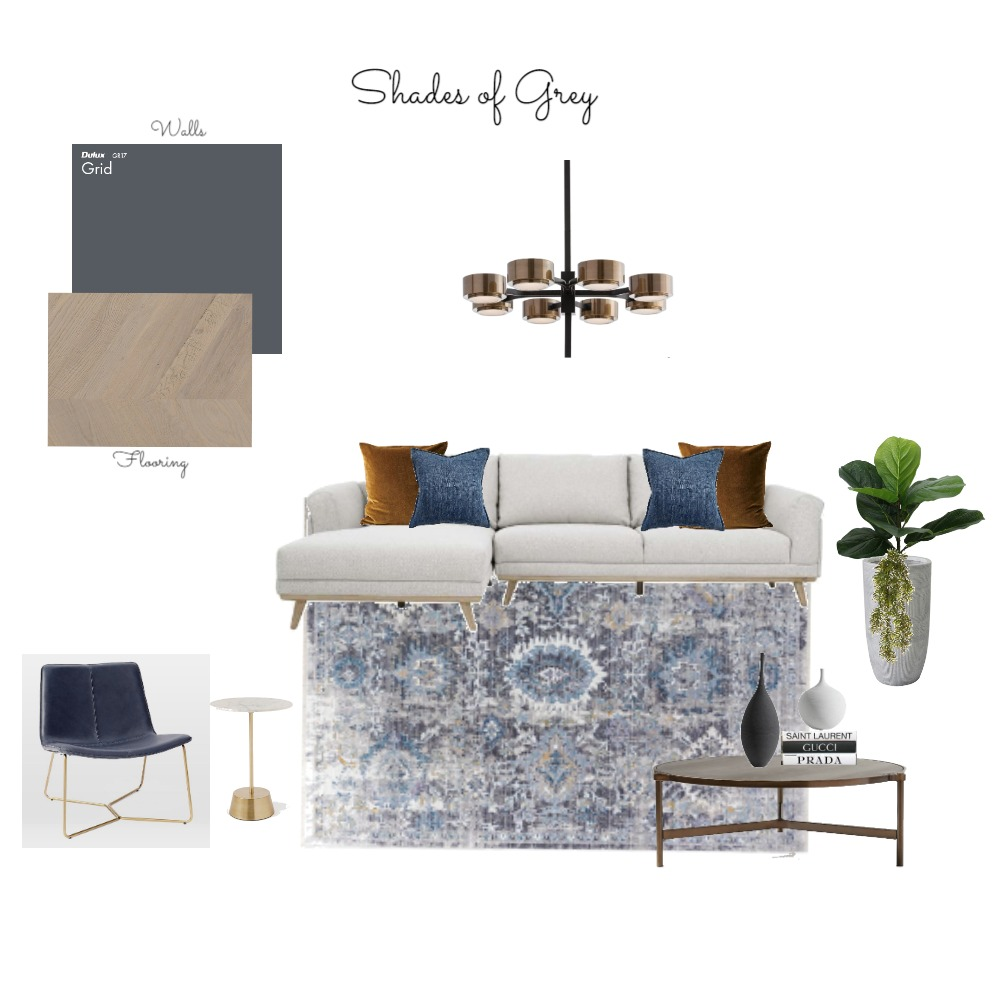 SHADES OF GREY Interior Design Mood Board by Organised Design by Carla on Style Sourcebook