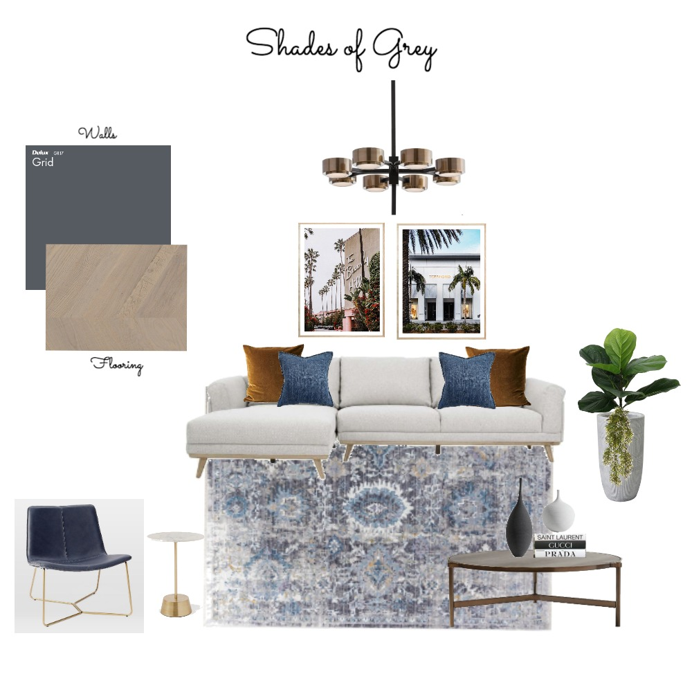 SHADES OF GREY. Interior Design Mood Board by Organised Design by Carla on Style Sourcebook