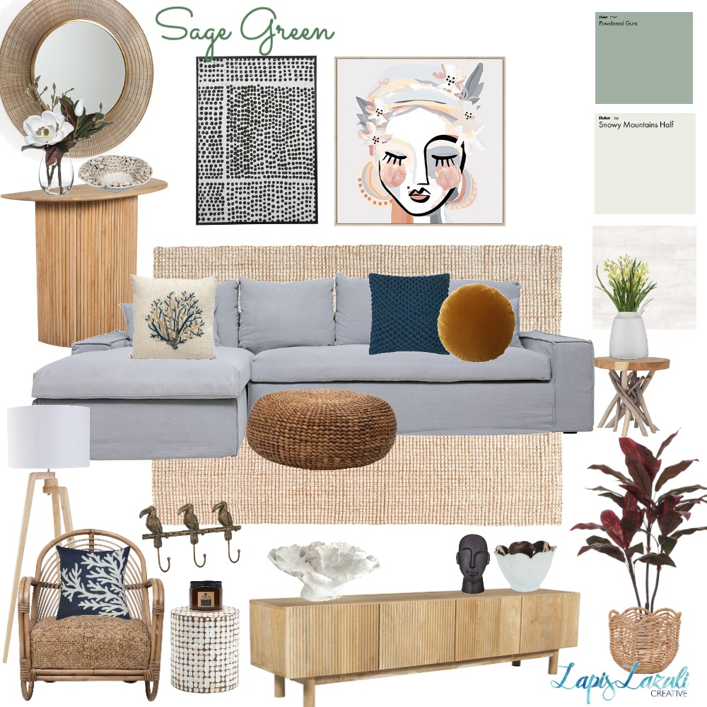 Peregian Apartment 2 Interior Design Mood Board by Lapi Lazuli Creative on Style Sourcebook