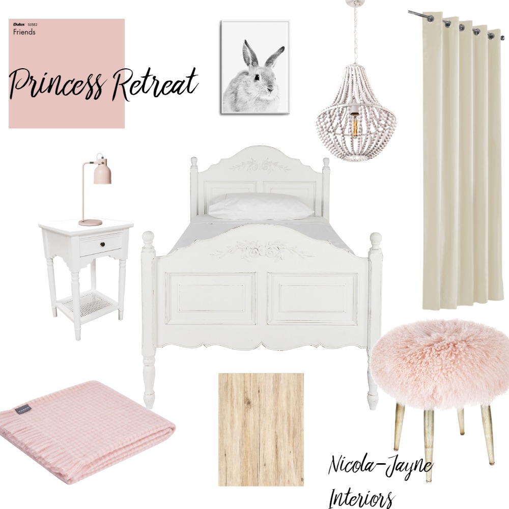 Princess retreat Interior Design Mood Board by nicola harvey on Style Sourcebook