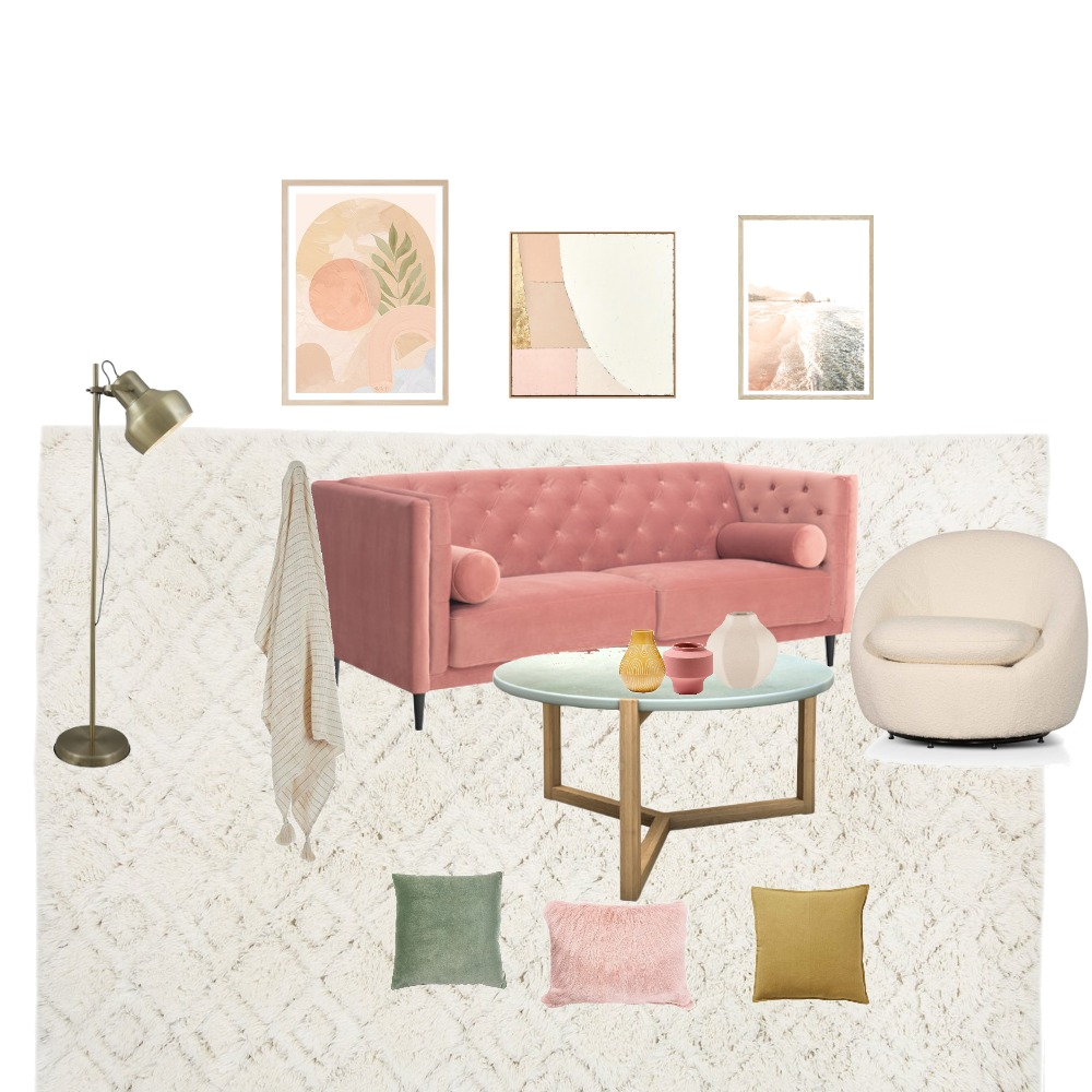 pasteles Interior Design Mood Board by Betania on Style Sourcebook
