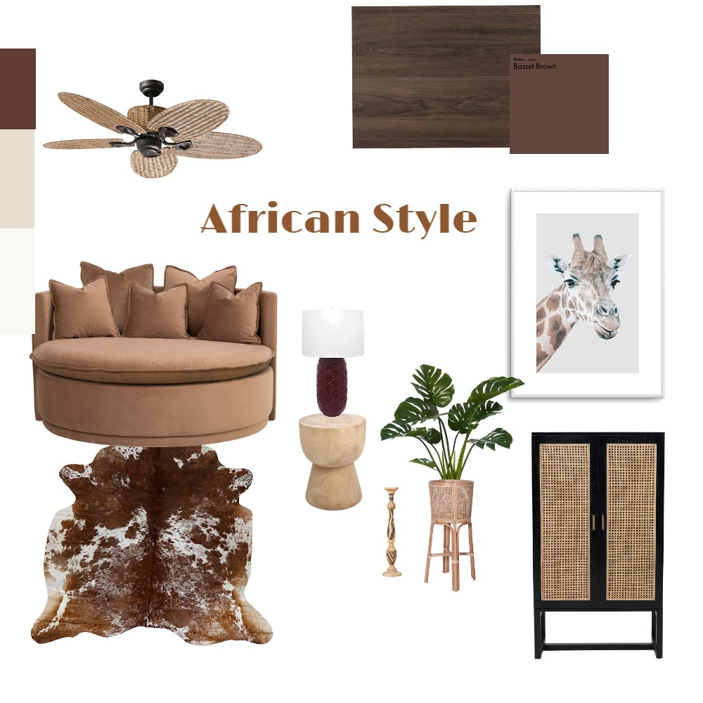 African Style Interior Design Mood Board by Strachan11 on Style Sourcebook