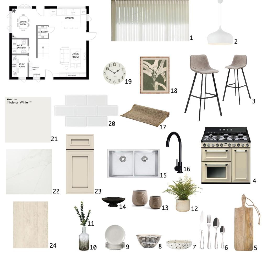 Kitchen Sample Board Interior Design Mood Board by carissamariz on Style Sourcebook
