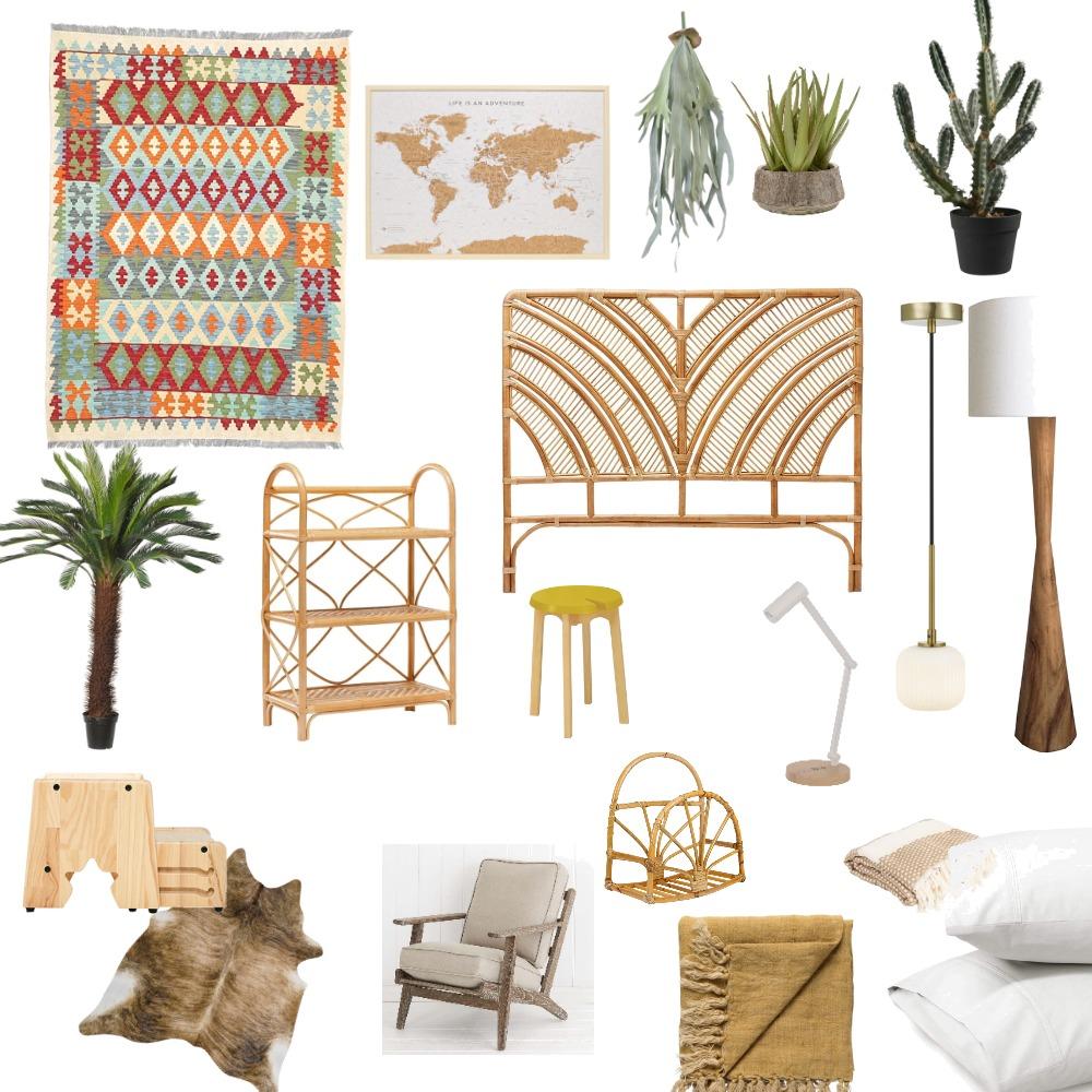 primal bedroom Interior Design Mood Board by Jooo on Style Sourcebook