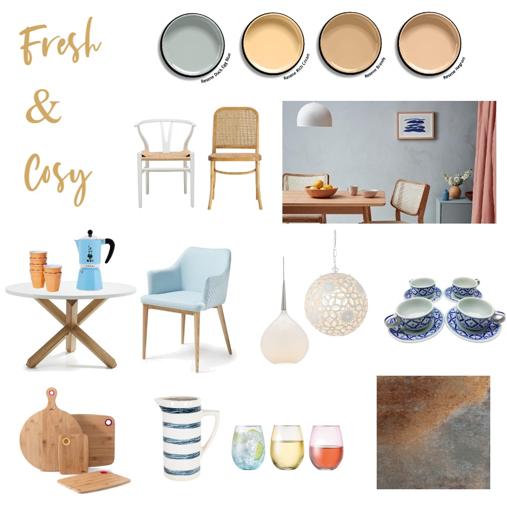 Fresh & Cosy Cafe Interior Design Mood Board by G3ishadesign on Style Sourcebook