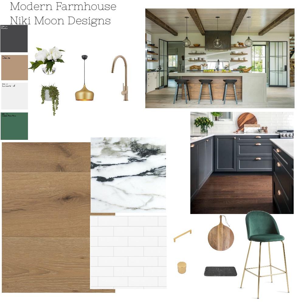 Modern Farmhouse Interior Design Mood Board by NikiMoon on Style Sourcebook