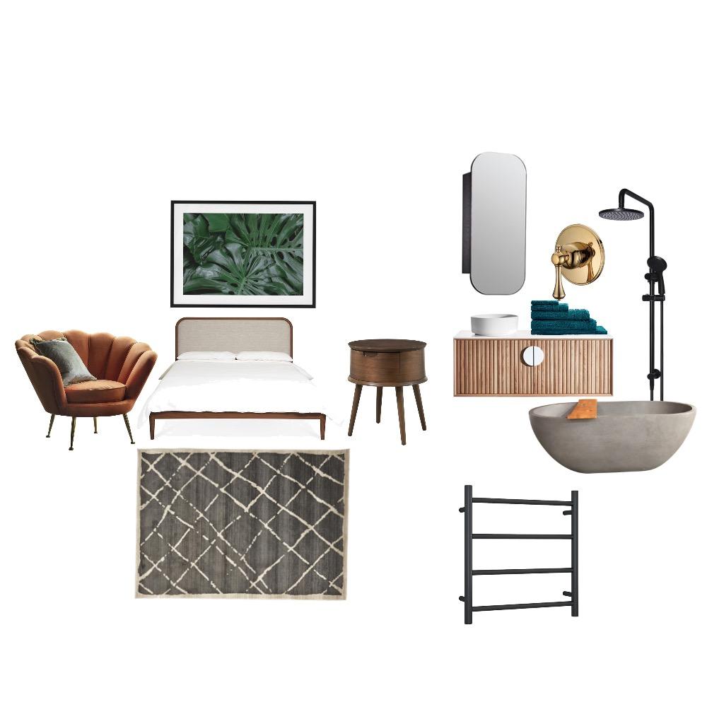 Tropical bedroom Interior Design Mood Board by Claramedina94 on Style Sourcebook