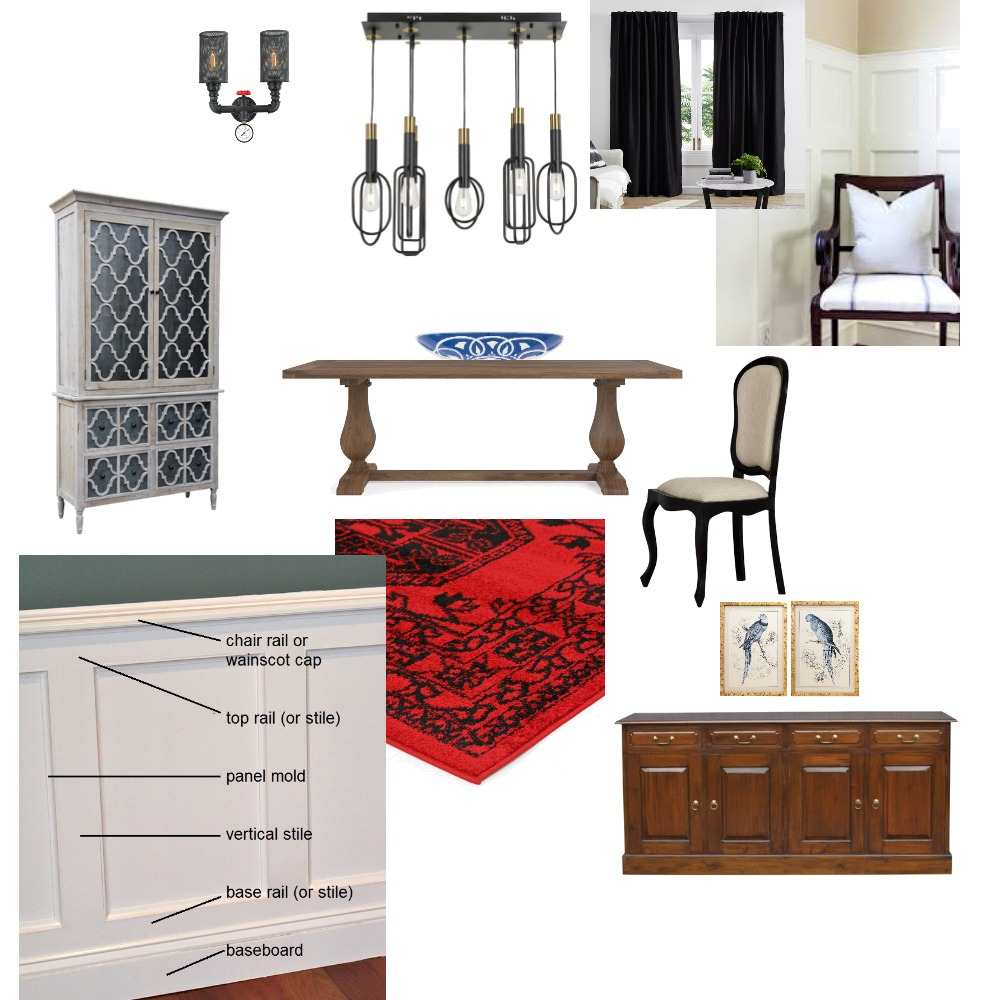KIM Dining ROOM Interior Design Mood Board by gbmarston69 on Style Sourcebook