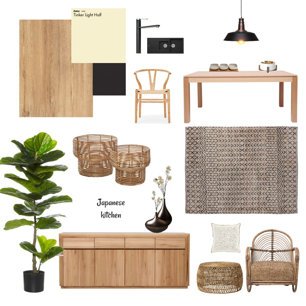 Japanese Interior Design Mood Board by Nadia94 on Style Sourcebook