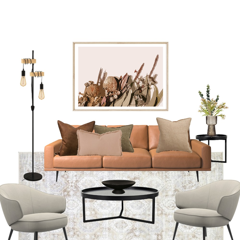 living Interior Design Mood Board by zenhouse on Style Sourcebook