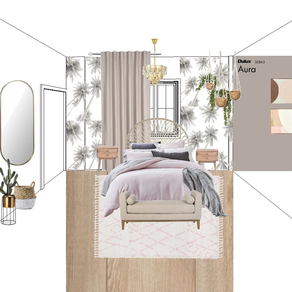 KH Master Bedroom Interior Design Mood Board by OlaVska on Style Sourcebook