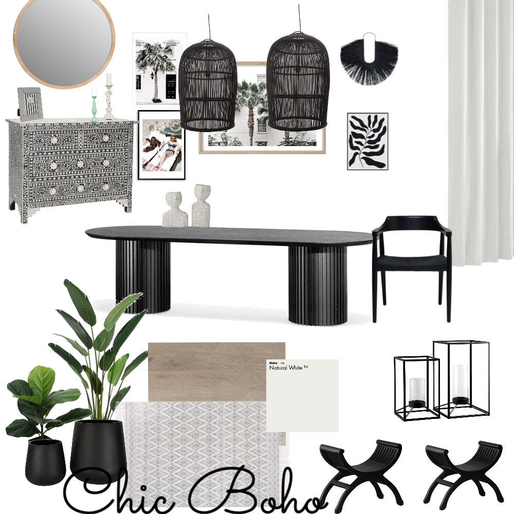 dining Interior Design Mood Board by khadijah.L on Style Sourcebook