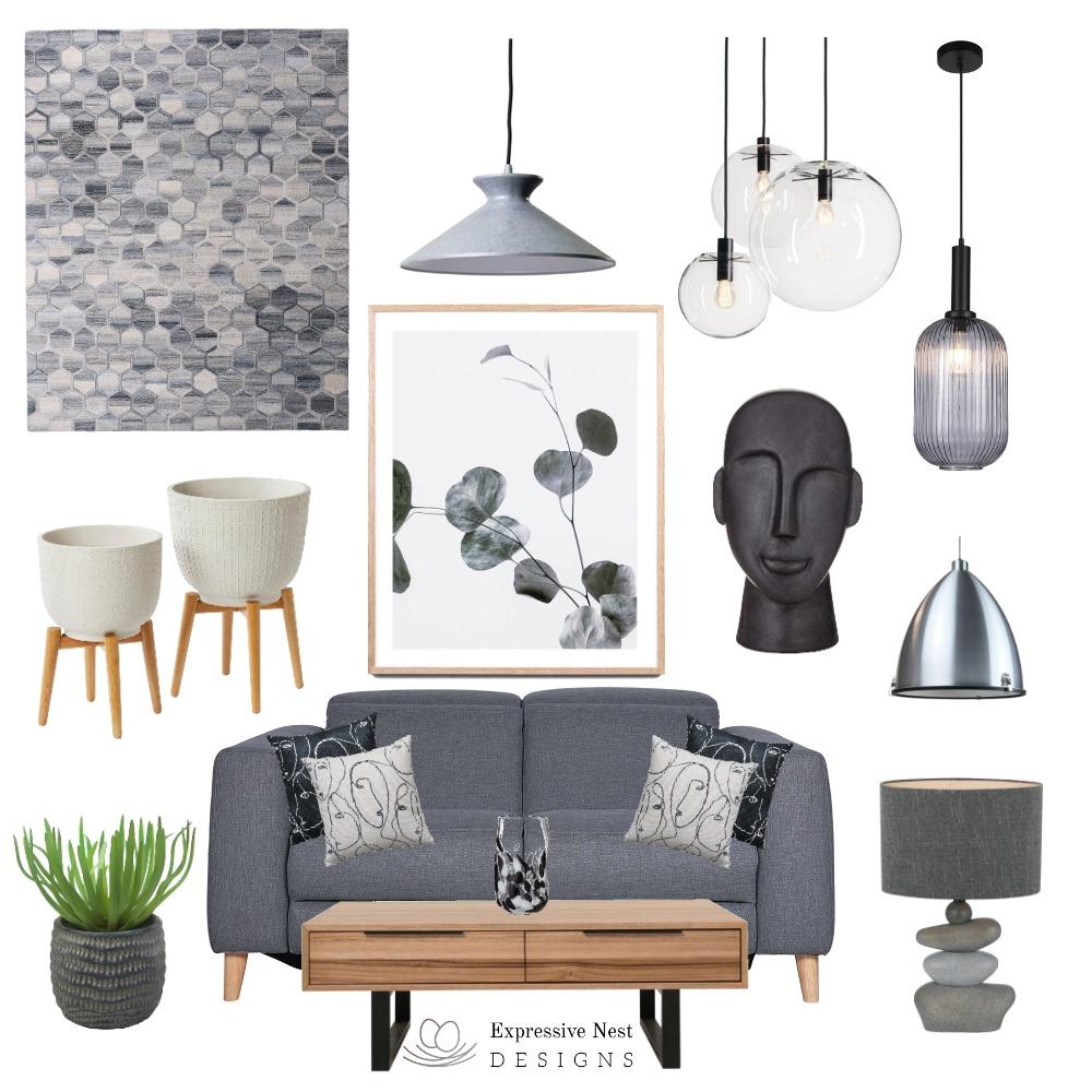 Shades of Grey Interior Design Mood Board by Nestdesigner on Style Sourcebook