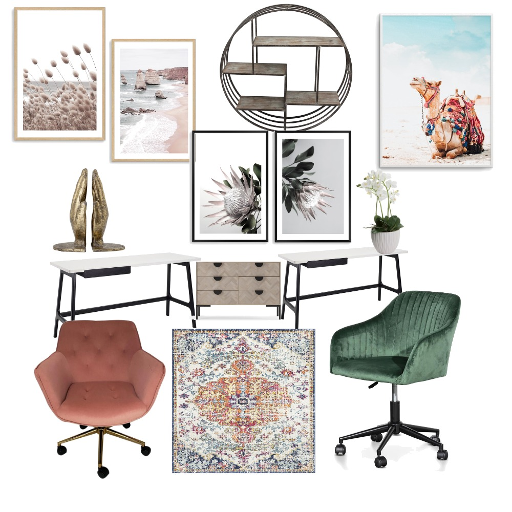 Study Room Interior Design Mood Board by KatKards on Style Sourcebook