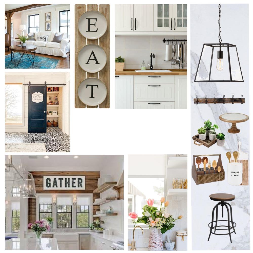 modern farmhouse kitchen Interior Design Mood Board by MUNZ on Style Sourcebook