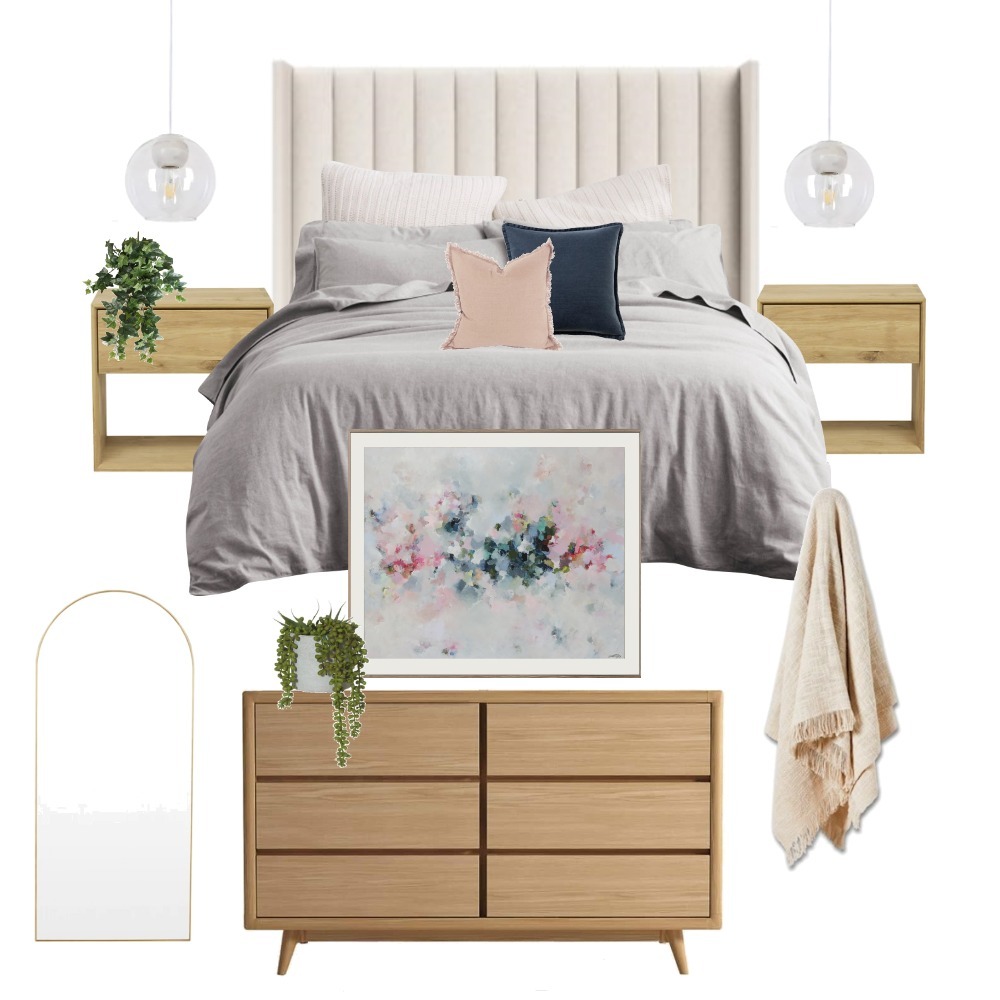 Master bedroom - Mentone Interior Design Mood Board by styledbymona on Style Sourcebook