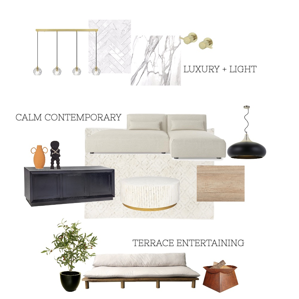 Drew&LeahCONTEMPORARY Interior Design Mood Board by elle watson on Style Sourcebook