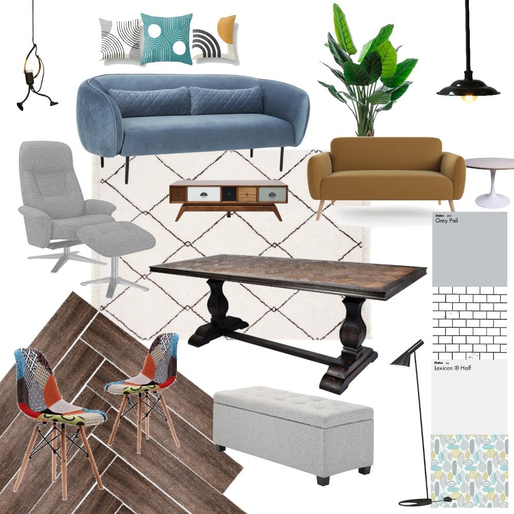 Retro Final Board Interior Design Mood Board by beka on Style Sourcebook