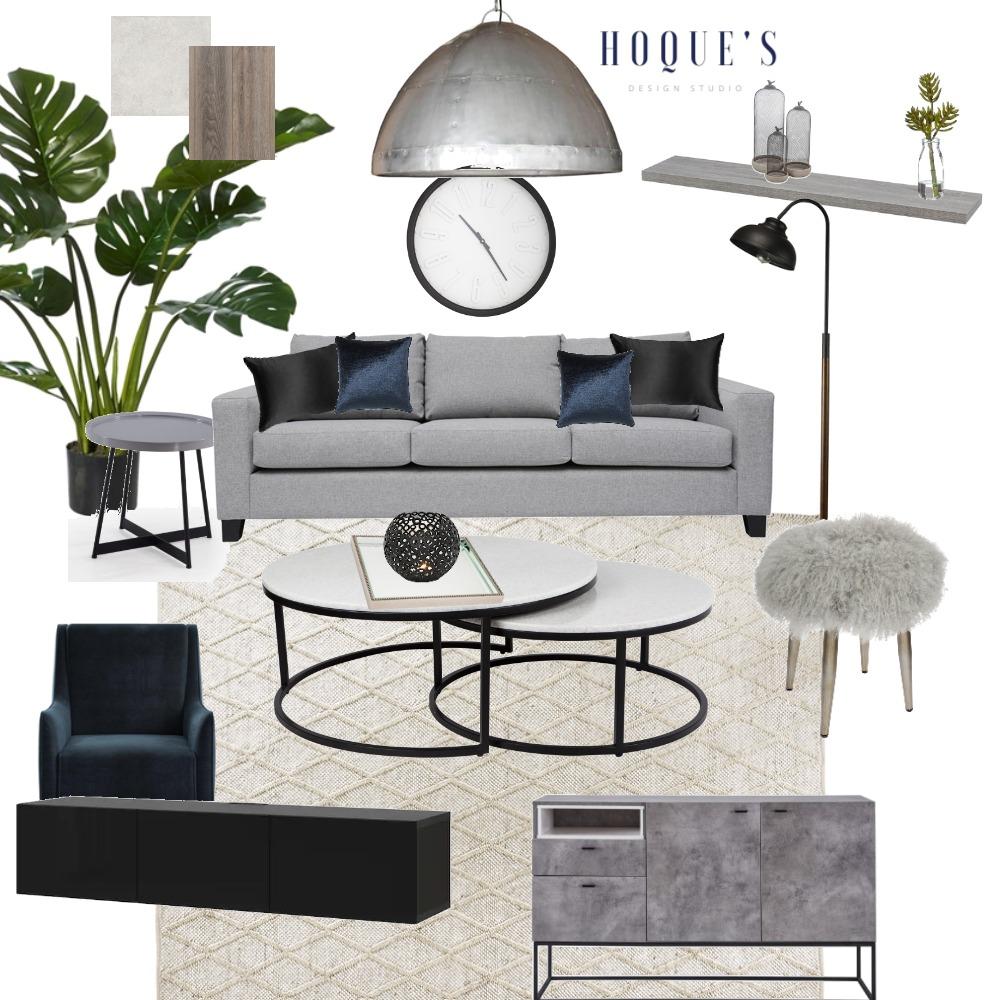 Living - Module 9 Interior Design Mood Board by Nilufa Hoque on Style Sourcebook