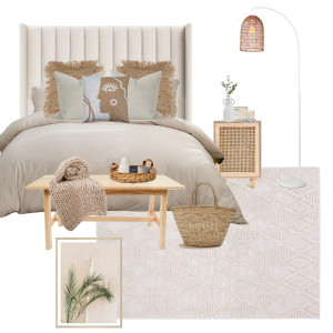 Jess x Coastal Bedroom Interior Design Mood Board by our vienna living on Style Sourcebook