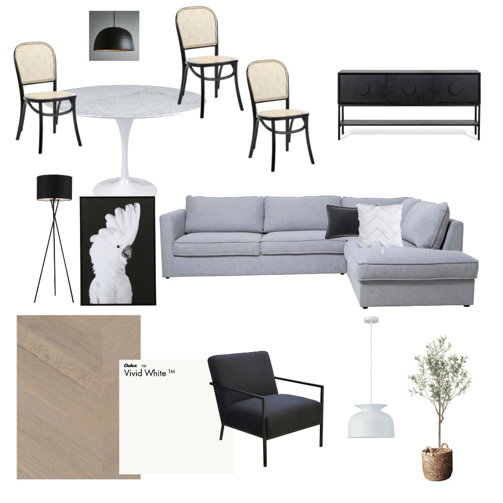 Family/ Casual Dining Interior Design Mood Board by Lisa on Style Sourcebook