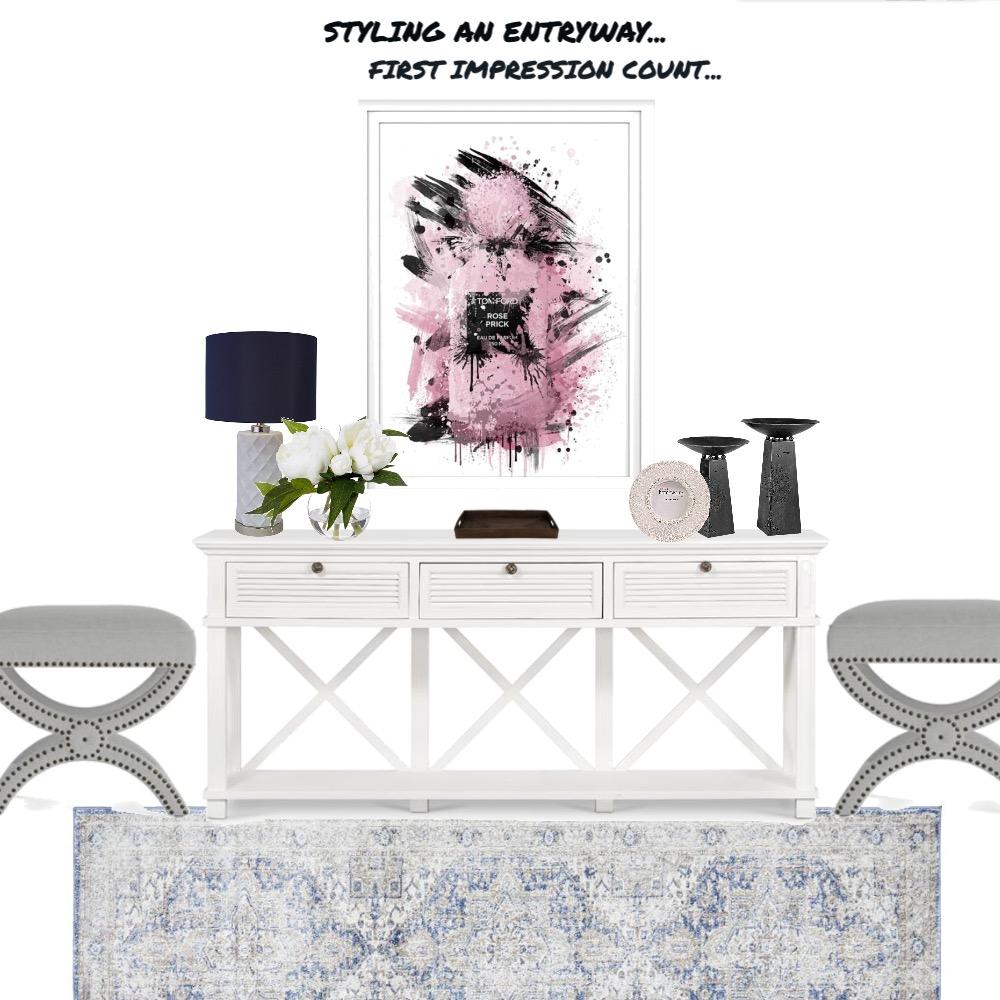 ENTRY WAY DECOR Interior Design Mood Board by Dorothea Jones on Style Sourcebook