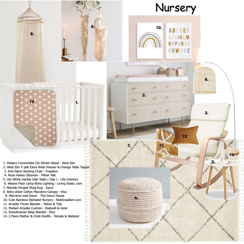 Nursery Mood Board by JanelleO on Style Sourcebook