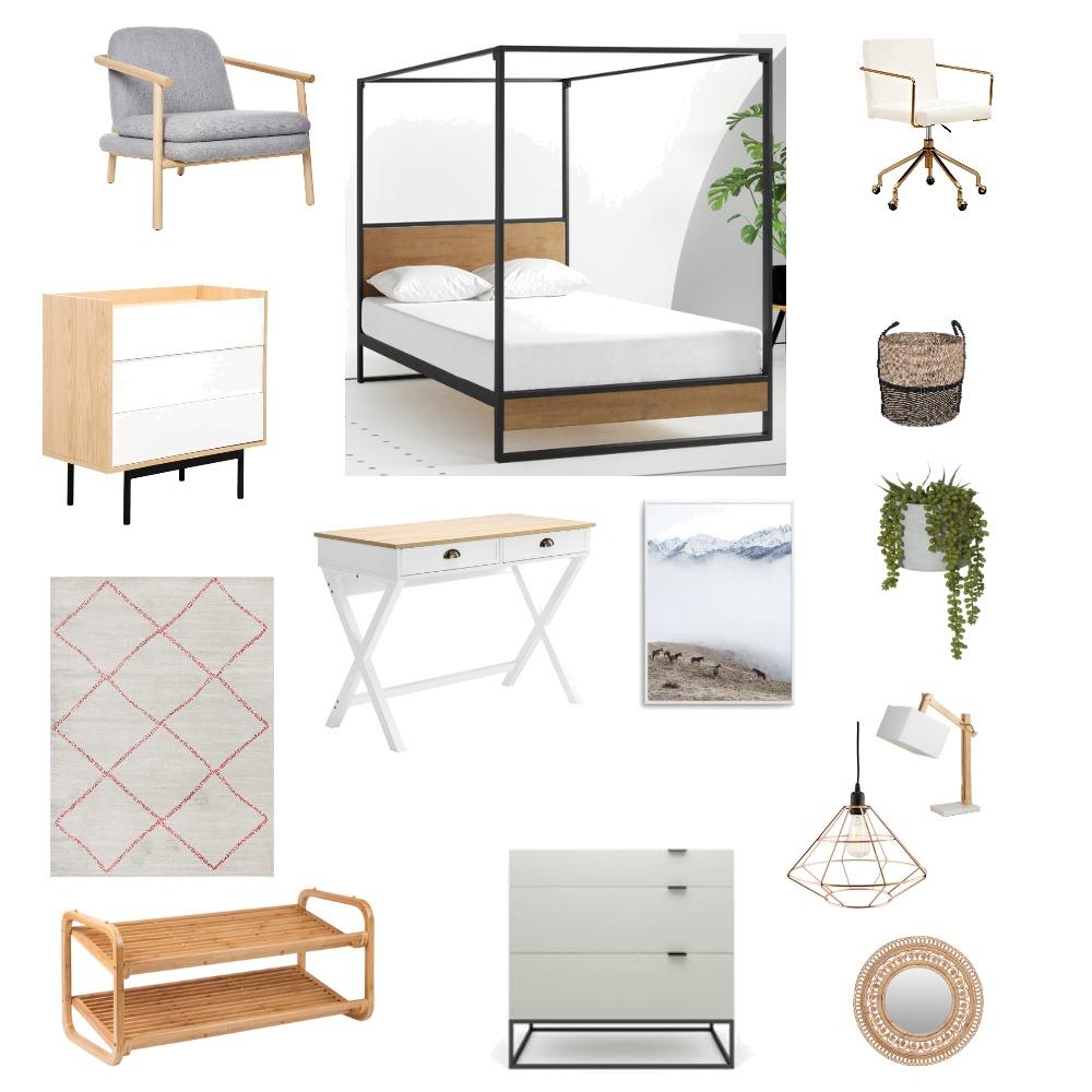 Modern Bedroom Interior Design Mood Board by Designgirl08 on Style Sourcebook