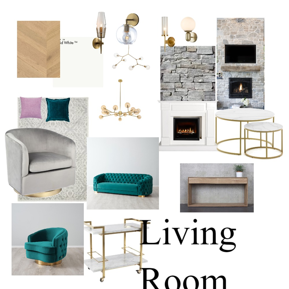 formal lounge room Interior Design Mood Board by suziralph on Style Sourcebook