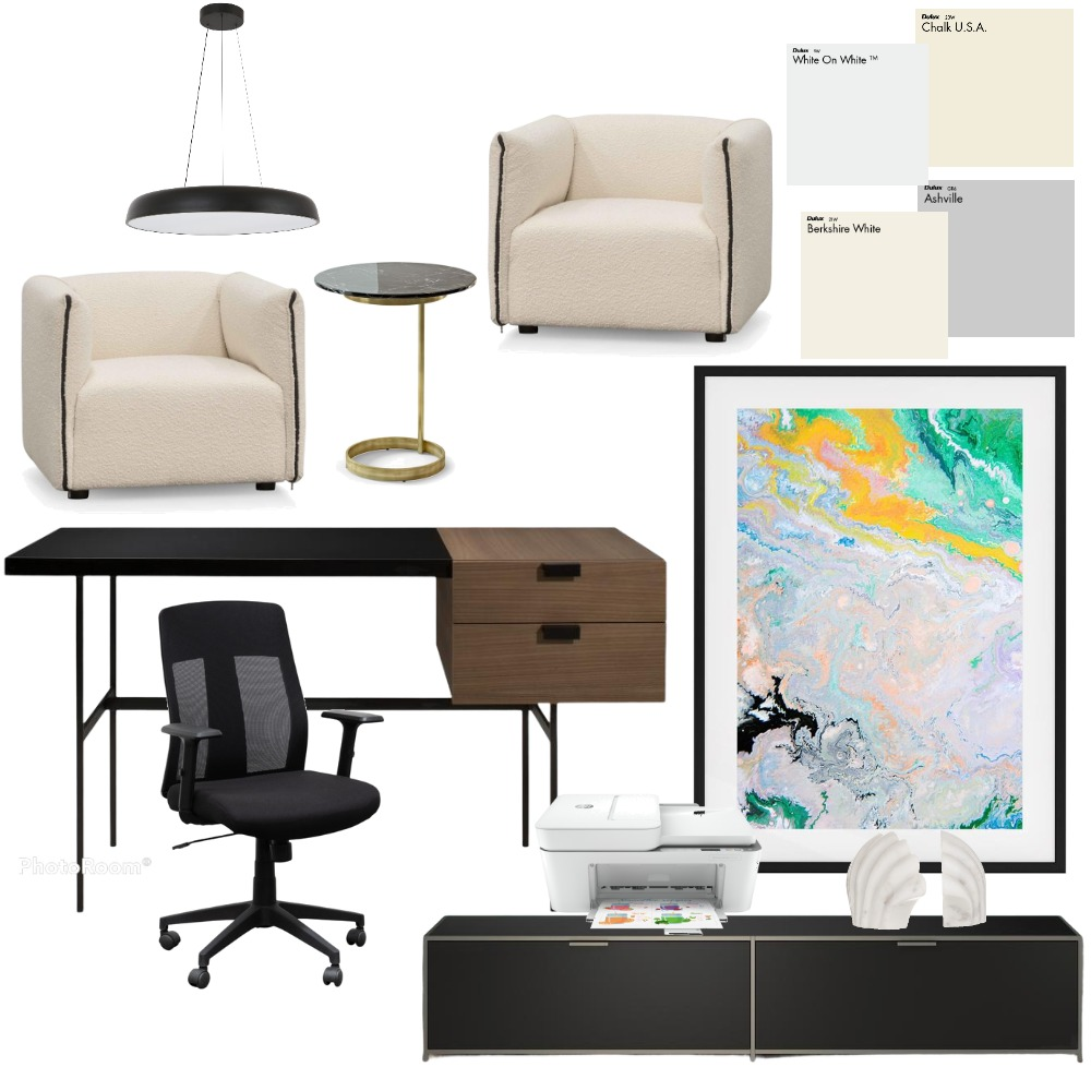 Secretary 2 Interior Design Mood Board by msolanillam on Style Sourcebook