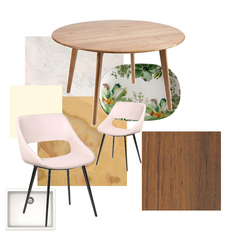dinning room and kitchen Interior Design Mood Board by Valérie Attlan on Style Sourcebook