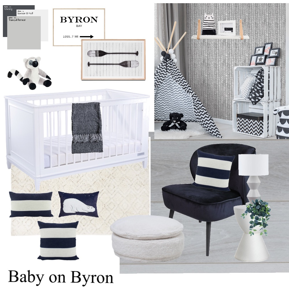 Baby on Byron Interior Design Mood Board by Stylefusion on Style Sourcebook