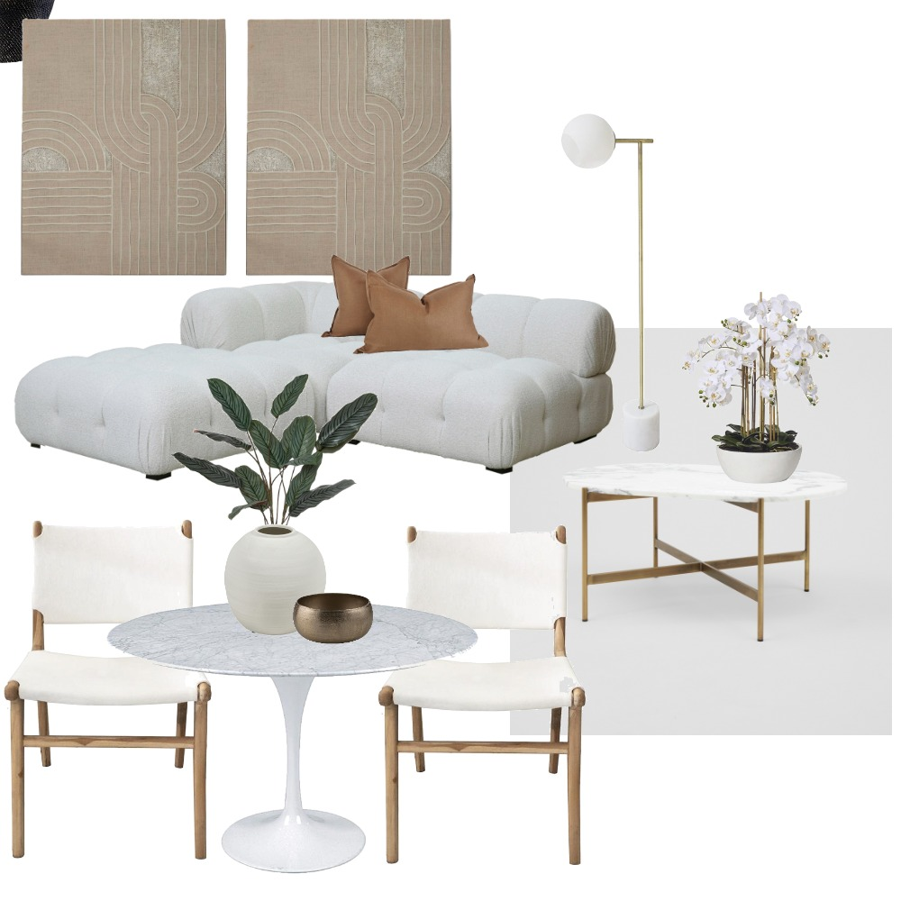 PEARL Interior Design Mood Board by Surfcoast Property Stylist on Style Sourcebook
