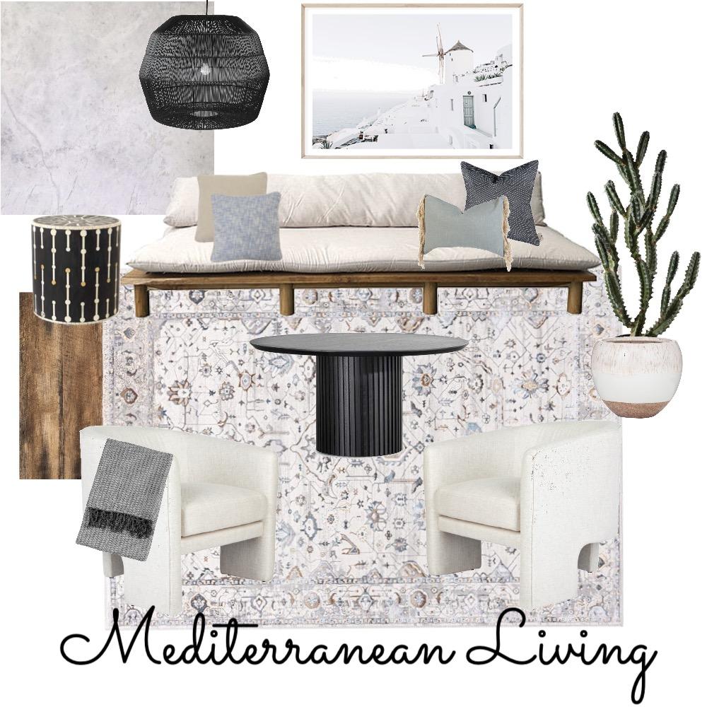 Mediterranean Living Room Interior Design Mood Board by Alexfoote on Style Sourcebook