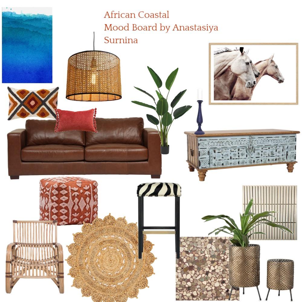 African Coastal Interior Design Mood Board by anastasiya.surnina on Style Sourcebook