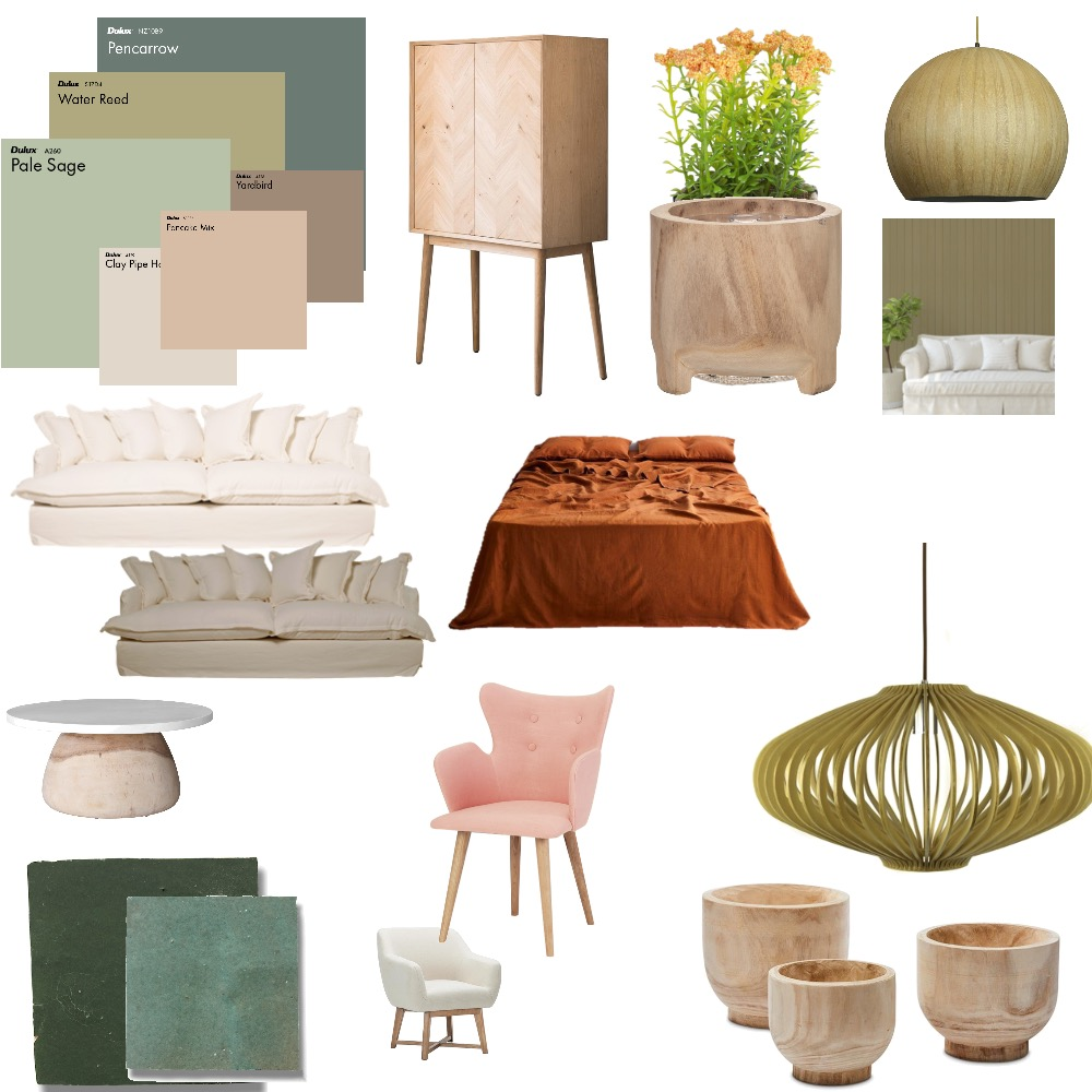 Eco blend living space Interior Design Mood Board by Jooo on Style Sourcebook