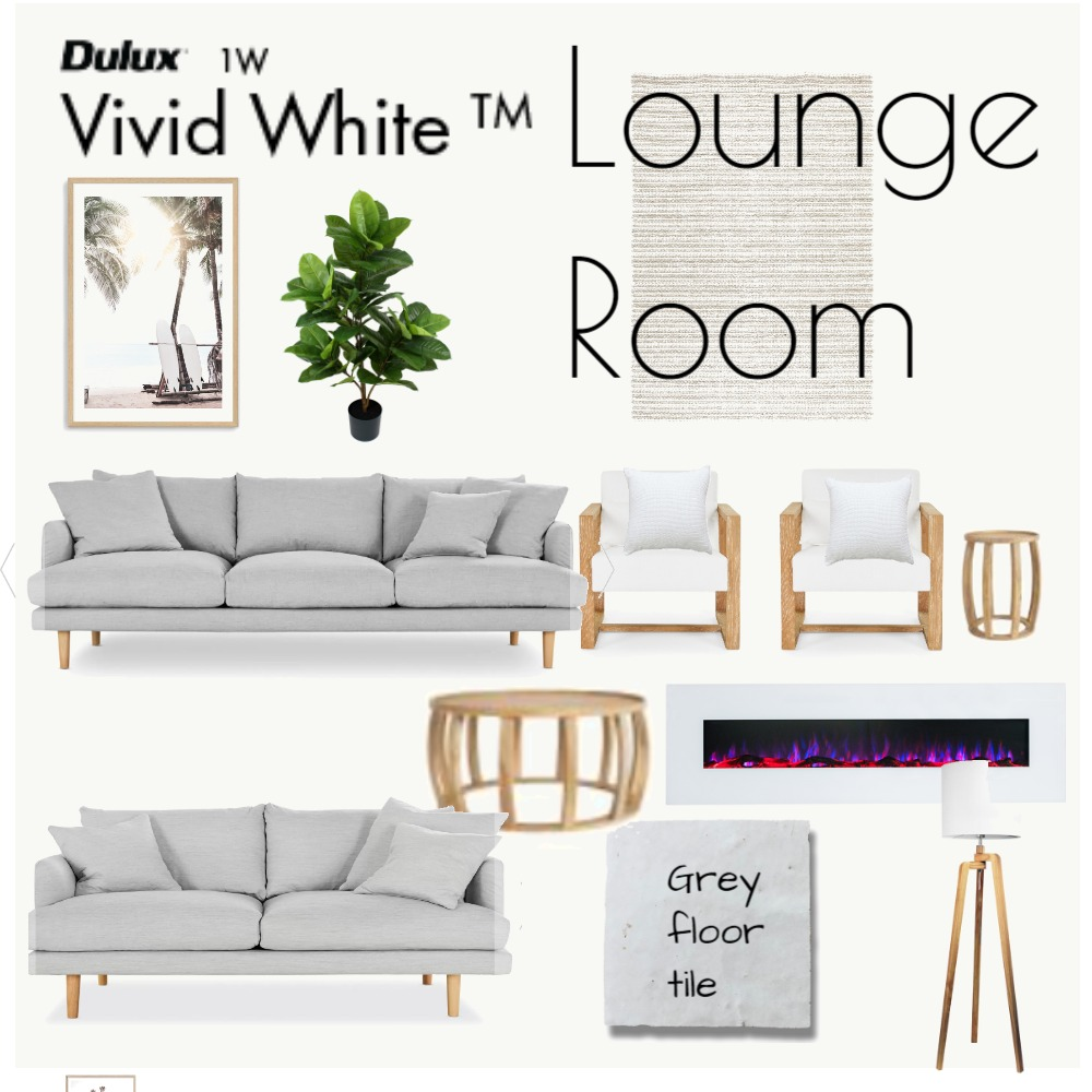 Lounge Room 2 Interior Design Mood Board by minnie on Style Sourcebook