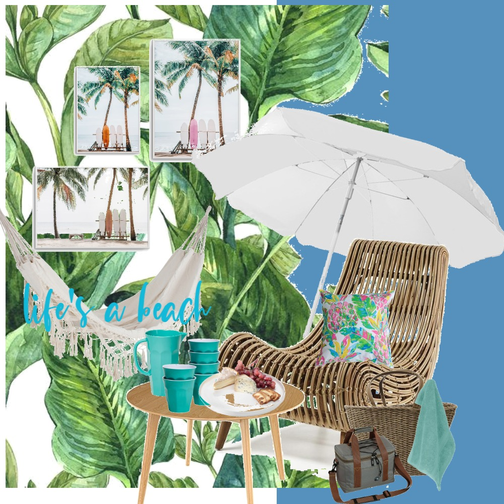 LIFE'S A BEACH Interior Design Mood Board by WHAT MRS WHITE DID on Style Sourcebook