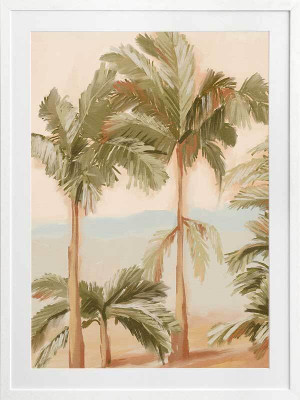 Tropical Sunset I Framed Art Print by Urban Road, a Prints for sale on Style Sourcebook