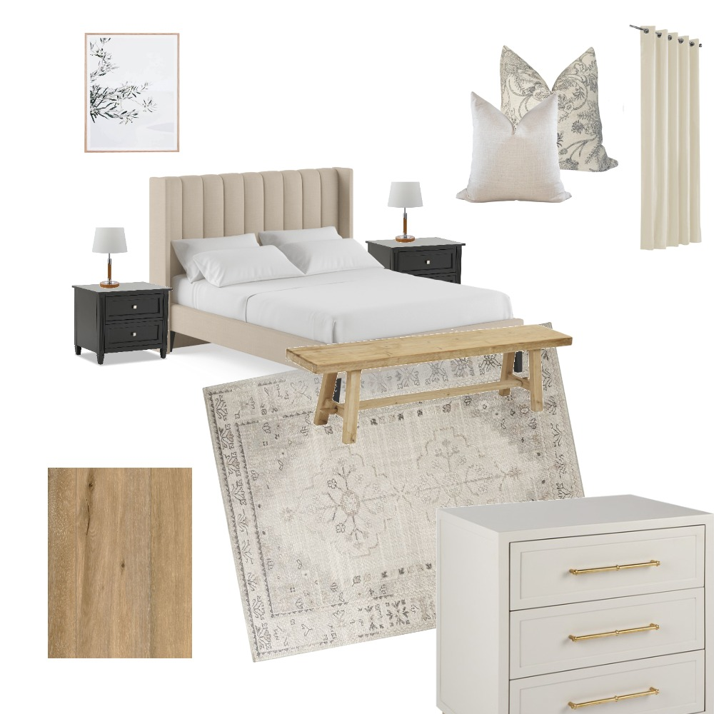 Master bedroom Interior Design Mood Board by Coralie_Kennedy on Style Sourcebook
