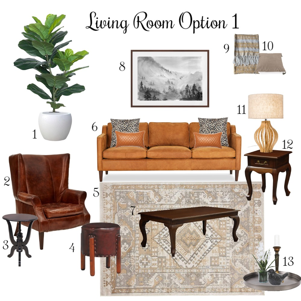 Maggie and Graham Mood Board Option 1 Interior Design Mood Board by DesignbyFussy on Style Sourcebook