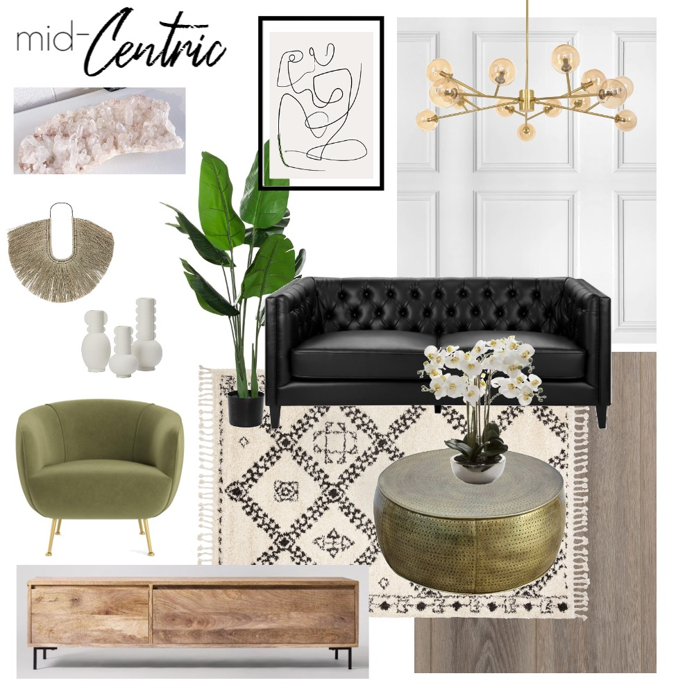 Mid-Centric Living Interior Design Mood Board by biancabrookedessmann on Style Sourcebook