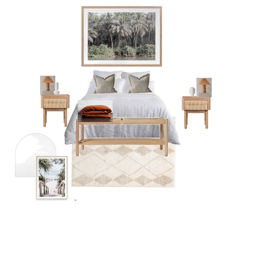 Eve Bed Room 1 Interior Design Mood Board by Morris on Style Sourcebook